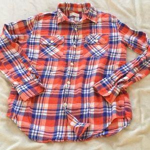 Boys Crewcuts lightweight flannel. (12)